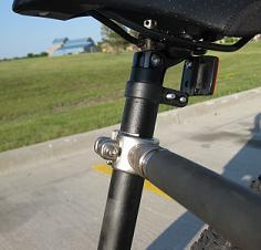 Hands free walkydog bike leash